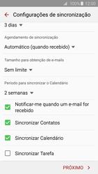 Samsung Galaxy S6 - Email - Como configurar seu celular para receber e enviar e-mails - Etapa 8