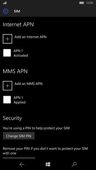 Microsoft Lumia 950 XL - Mms - Manual configuration - Step 7