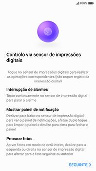 Huawei Mate 9 - Primeiros passos - Como ligar o telemóvel pela primeira vez -  18
