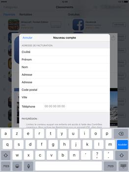 Apple iPad Pro (9.7) - Applications - Télécharger des applications - Étape 19