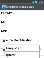 LG E430 Optimus L3 II - MMS - Configuration manuelle - Étape 14