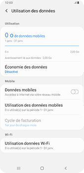 Samsung Galaxy S9 Plus - Android Pie - Internet - activer ou désactiver - Étape 7