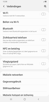 Samsung Galaxy S8+ - Android Pie (SM-G955F) - NFC - NFC activeren - Stap 5