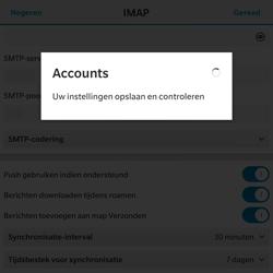 BlackBerry Passport - E-mail - Handmatig instellen - Stap 16