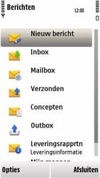 Nokia 5230 - E-mail - handmatig instellen - Stap 4