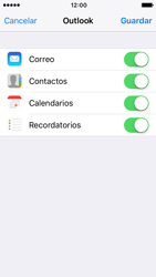 Apple iPhone 5s iOS 10 - E-mail - Configurar Outlook.com - Paso 9