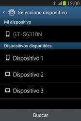 Samsung S6310 Galaxy Young - Bluetooth - Transferir archivos a través de Bluetooth - Paso 11