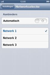 Apple iPhone 4 S met iOS 6 - Netwerk - gebruik in het buitenland - Stap 8