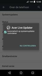 Acer Liquid Z330 - Netwerk - Software updates installeren - Stap 7