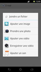 Sony LT30p Xperia T - E-mail - envoyer un e-mail - Étape 10