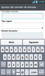 LG Optimus L5 II - E-mail - Configurar correo electrónico - Paso 11