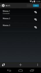 LG D821 Google Nexus 5 - Wifi - configuration manuelle - Étape 7