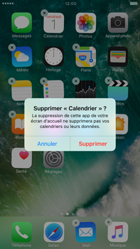 Apple Apple iPhone 6s Plus iOS 10 - iOS features - Supprimer et restaurer les applications iOS par défaut - Étape 4