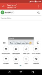 Alcatel Idol 3 - Mensajería - Escribir y enviar un mensaje multimedia - Paso 13