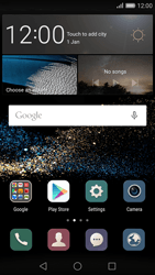 Huawei P8 - Settings - Configuration message received - Step 1