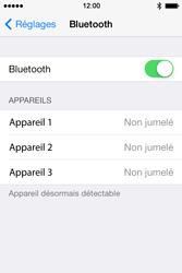 Apple iPhone 4s iOS 8 - WiFi et Bluetooth - Jumeler votre téléphone avec un accessoire bluetooth - Étape 5