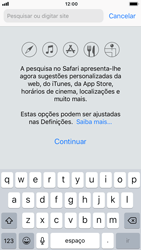 Apple iPhone 8 - Dados - Como utilizar o web browser -  4
