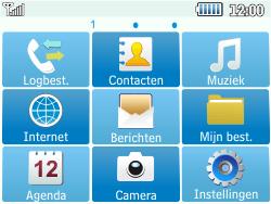 Samsung C3500 Chat 350 - E-mail - handmatig instellen - Stap 3