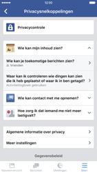 Apple iPhone 6 met iOS 9 (Model A1586) - Privacy - Privacy instellingen van Facebook aanpassen - Stap 20