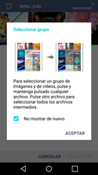 LG K10 4G - Bluetooth - Transferir archivos a través de Bluetooth - Paso 6