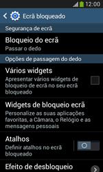 Samsung Galaxy Trend Plus - Segurança - Como ativar o código de bloqueio do ecrã -  6