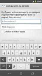 Sony Xperia M2 (D2303) - E-mail - Configuration manuelle - Étape 5