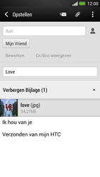 HTC One - E-mail - Hoe te versturen - Stap 16