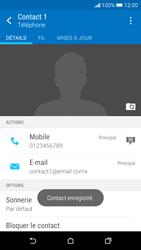 HTC Desire 626 - Contact, Appels, SMS/MMS - Ajouter un contact - Étape 15