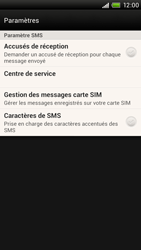 HTC S728e One X Plus - SMS - configuration manuelle - Étape 5