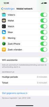 Apple iPhone XS - wifi - schakel Wi-Fi Assistentie uit - stap 5