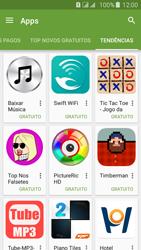 Samsung Galaxy J5 - Aplicativos - Como baixar aplicativos - Etapa 12