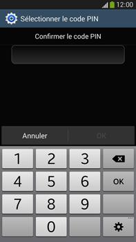 Samsung Galaxy Note 3 - Sécuriser votre mobile - Activer le code de verrouillage - Étape 10