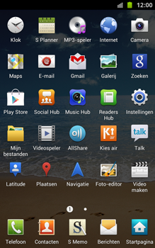 Samsung N7000 Galaxy Note - OS 4 ICS - Internet - hoe te internetten - Stap 3