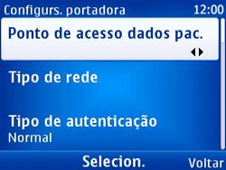 Nokia X2-01 - Internet - Como configurar seu celular para navegar através de Vivo Internet - Etapa 12