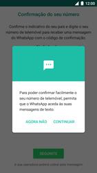 BQ Aquaris U - Aplicações - Como configurar o WhatsApp -  11