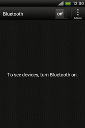 HTC A320e Desire C - Bluetooth - Pair with another device - Step 5
