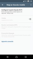 Sony Xperia XZ (F8331) - Internet et connexion - Partager votre connexion en Wi-Fi - Étape 7