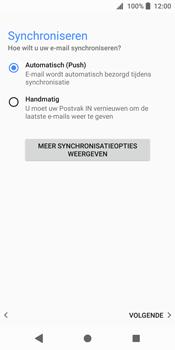 Sony Xperia XZ2 (H8216) - E-mail - Account instellen (IMAP zonder SMTP-verificatie) - Stap 19