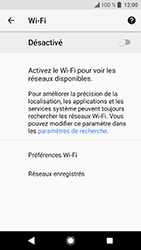 Sony Xperia XA2 - Wi-Fi - Accéder au réseau Wi-Fi - Étape 6