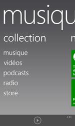 Nokia Lumia 625 - Photos, vidéos, musique - Ecouter de la musique - Étape 4