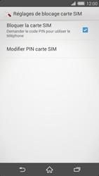 Sony Xperia Z2 - Sécuriser votre mobile - Personnaliser le code PIN de votre carte SIM - Étape 6