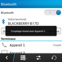 BlackBerry Q5 - Bluetooth - connexion Bluetooth - Étape 11