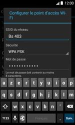 Bouygues Telecom Bs 403 - Internet et connexion - Partager votre connexion en Wi-Fi - Étape 8