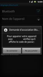 Sony ST25i Xperia U - Bluetooth - connexion Bluetooth - Étape 11