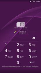 Sony Xperia Z3 - Primeros pasos - Activar el equipo - Paso 2