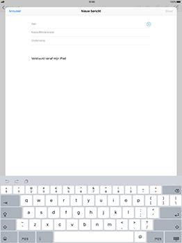 Apple iPad Pro 12.9 - iOS 11 - E-mail - Bericht met attachment versturen - Stap 4