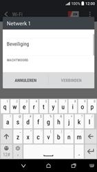 HTC Desire 530 - WiFi en Bluetooth - Handmatig instellen - Stap 7
