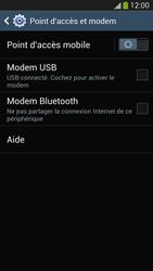 Samsung Galaxy S4 - Internet et connexion - Utiliser le mode modem par USB - Étape 7