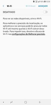 Samsung Galaxy J8 - Wi-Fi - Como configurar uma rede wi fi - Etapa 6