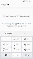Samsung Galaxy A3 (2017) - Segurança - Como ativar o código de bloqueio do ecrã -  9